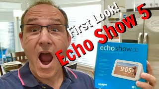 Echo Show 5 First Look!