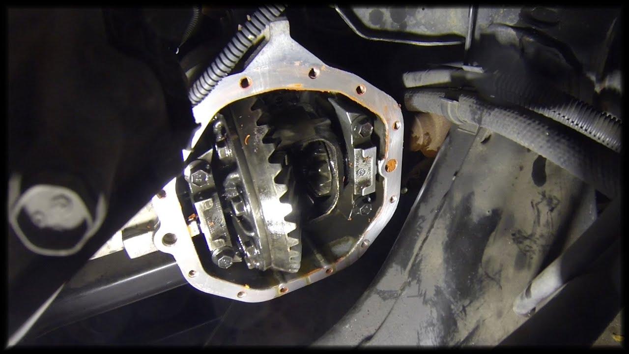 2007 Dodge Durango Front Differential Fluid Change Youtube