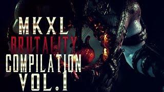 MORTAL KOMBAT X BRUTALITY COMPILATION #1