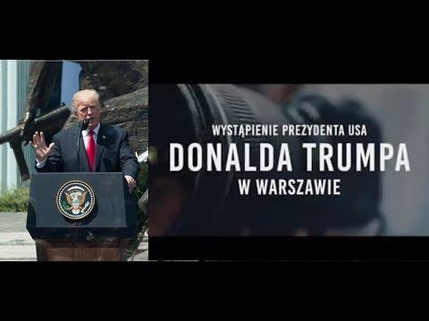 Wystąpienie Donalda Trumpa W Warszawie