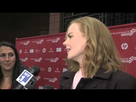Nicole Kidman says it's good to be back at Sundance!
