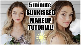 SUMMER EVERYDAY MAKEUP! Natural & Sun-kissed!