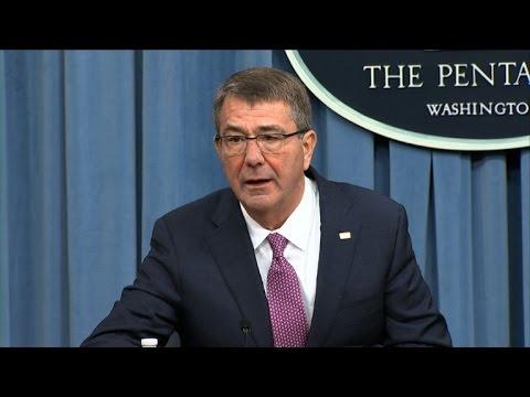 Pentagon chief hails US progress in Iraq and Syria