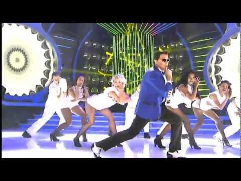 Santiago Segura gana con el Gangnam Style de PSY la octava gala...