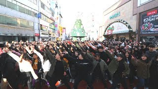 Have you ever seen Random Play Dance in Korea? This is Korea's first Random play dance in Daegu
