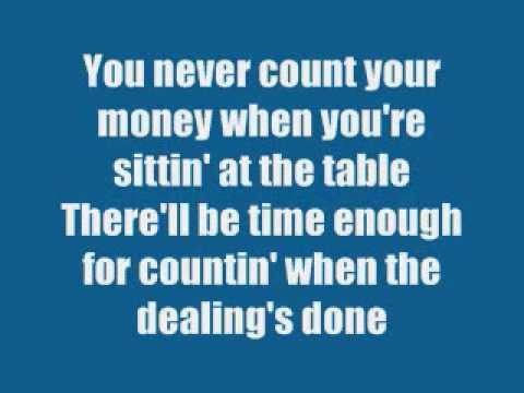 Kenny Rogers -  The Gambler (song+lyrics) video