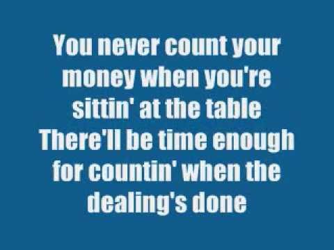 Kenny Rogers -  The Gambler (song+lyrics) video