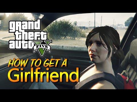 GTA 5 - How to Get a HOT Girlfriend (GTA 5 Como Ter uma Namorada) First-person