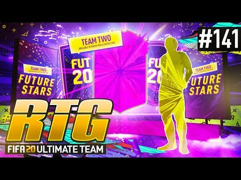 FUTURE STARS TEAM 2 IS HERE! - #FIFA20 Road to Glory! #141! Ultimate Team