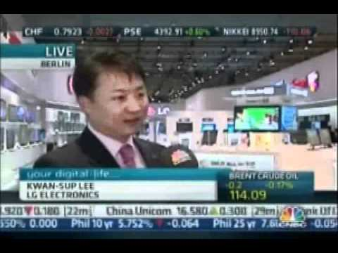 LG Electronics KS Lee's Live Interview with CNBC at IFA_20110902.wmv