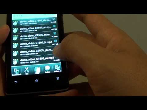 Sony Xperia E: How to Copy / Move Files to SD Card Memory