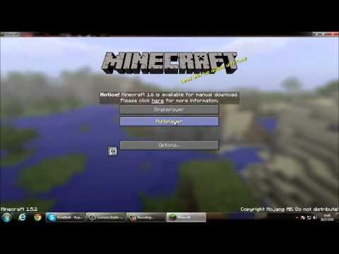 วิธีโหลดเกม Minecraft และวิธีเล่นออนไลน์