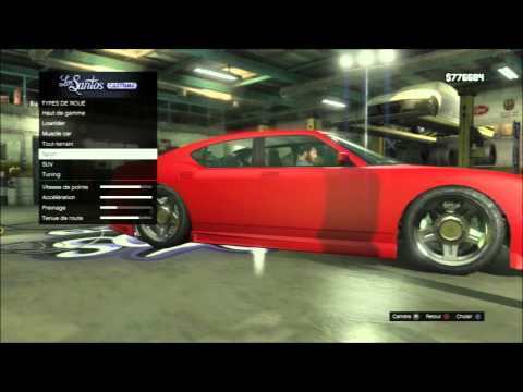 GTA V GAMEPLAY CUSTOM CAR PS3 HD