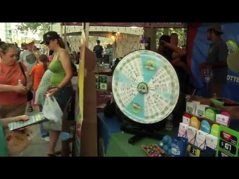 Colorado Lottery at Taste of Colorado 2011