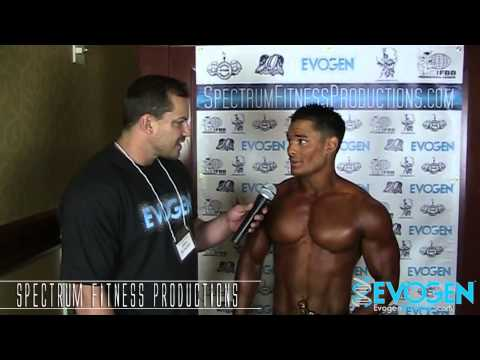 2013 IFBB Sacramento Men's Physique Winner Jeremy Buendia