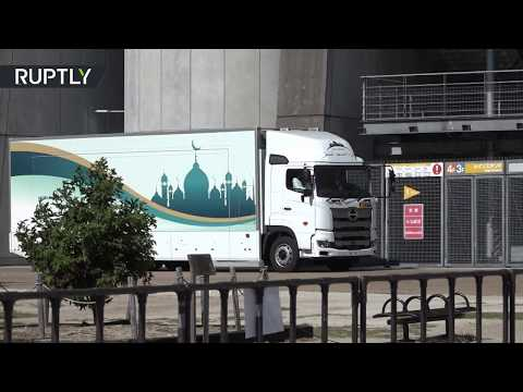 اليابان تختبر مسجدا جوّالا