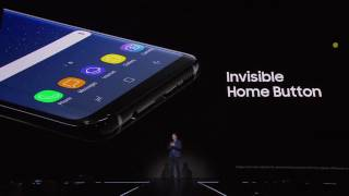 Where is Home Button in Samsung Galaxy S8 and S8+