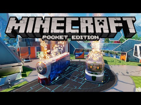 NUKETOWN IN MINECRAFT PE!!! - Black Ops 3 Nuk3town Map Remake - Minecraft Pocket Edition