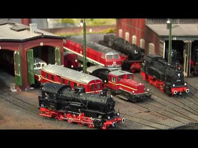 Amazing Model Railroad Layout in HO Scale with Cab Passenger Ride