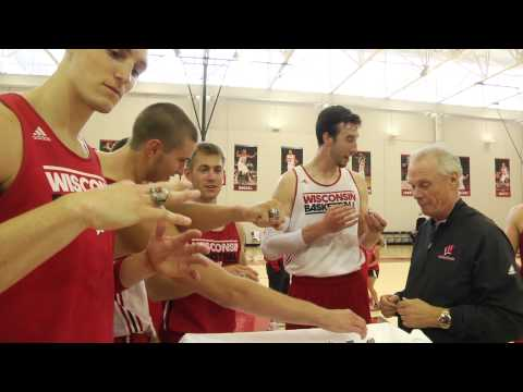 Wisconsin Basketball Final Four Rings video