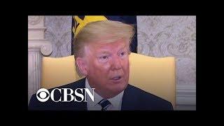 "Trump says it's ""hard to believe"" Iran intentionally shot down U.S. drone"