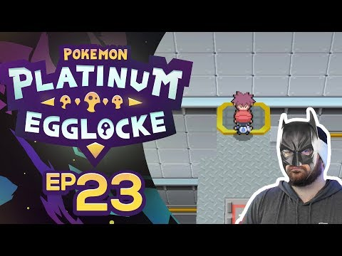 I'M NOT BATMAN! • Pokemon Platinum Egglocke w/CrimsonCBAD Ep 23