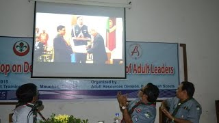 Chief National Commissioner of Bangladesh Scouts got Silver Elephant award From INDIA 2015