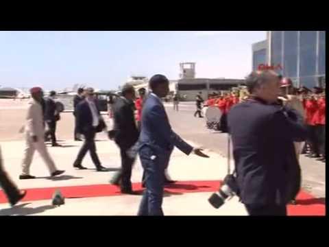 1- Cumhurbaşkanı Erdoğan Somali'de