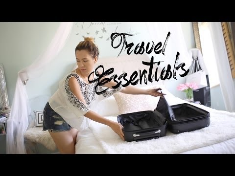 Summer Vacation Packing Essentials | ANNEORSHINE