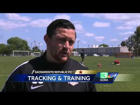 GPS helps Sac Republic trainers track players' health in real-time