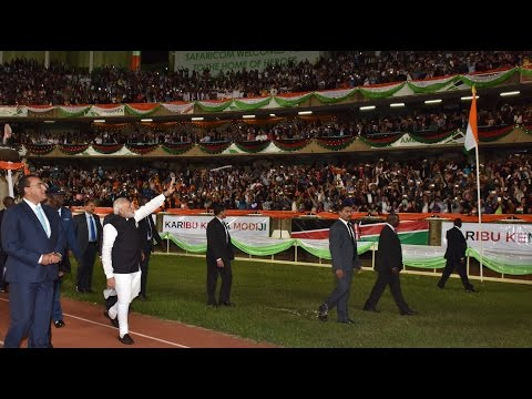 PM Shri Narendra Modi addresses Indian Community in Nairobi, Kenya