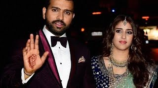 UNCUT VIDEO | Rohit Sharma and Ritika Sajdeh Wedding Reception Full HD