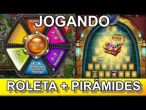 DDTANK Roleta da sorte + Piramide 2x