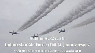 Sukhoi SU-27/30 Indonesian Air Force (TNI-AU)
