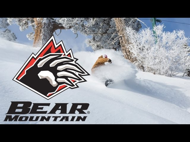 February Powder Day at Bear Mountain
