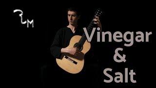 Vinegar & Salt - Hooverphonic - Classical Guitar Cover Robin Meys