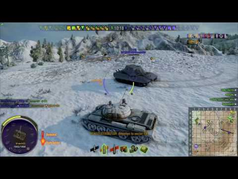 World of Tanks Console PS4 Pro - T62A 11k overall dmg