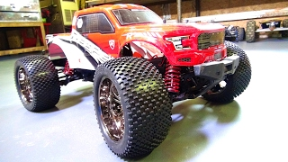 My 1st CEN REEPER MT Upgrade! Shock Springs & TiRES - 1/7, 6S Lipo Monster RC Truck | RC ADVENTURES