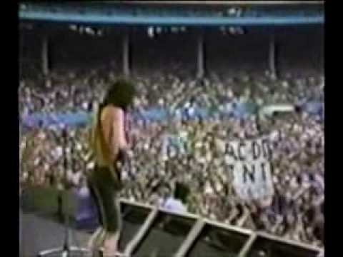 AC/DC The Jack - Live
