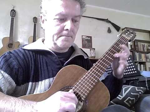 Matteo Carcassi- study in A- opus 60 no 23- classical guitar