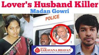 LOVER'S HUSBAND KILLER | Tamil | Saravana Bhavan Annachi | Madan Gowri | MG | RajaGopal | JeevaJothi