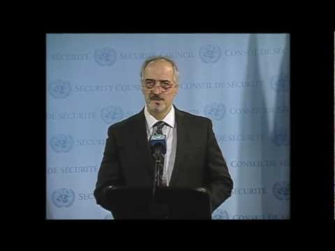 ASIA11TVNet: SYRIAN CRISIS: U.N. SECURITY COUNCIL MEETS in NEW YORK (UNTV)
