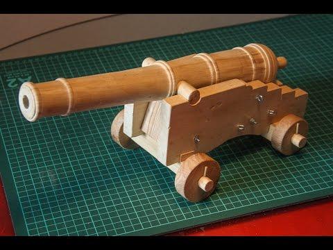 Пушка своими руками из фанеры 87