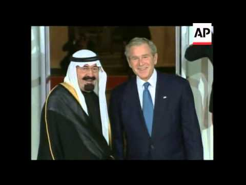 Bush welcomes summit participants at White House, comment