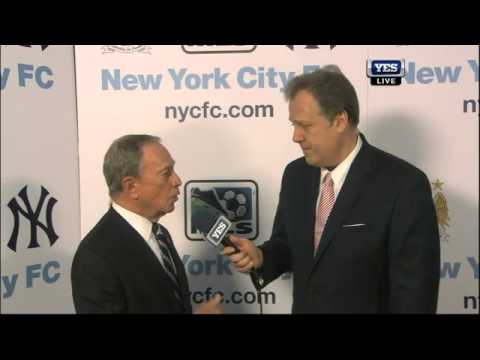 New York City Mayor Michael Bloomberg on the formation of New York City Football Club
