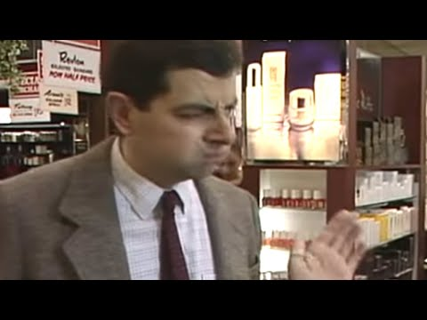 Mr. Bean - The Perfume Counter