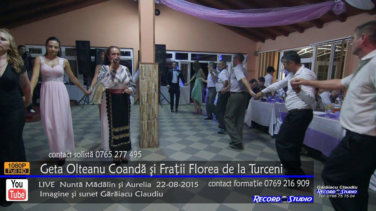 ♫ Geta Olteanu Coanda Colaj SARBA LIVE Nunta Madalin si Aurelia 22-08-2015