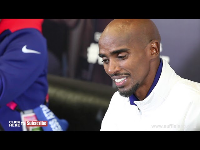 MO FARAH ATTACKS BRITISH MEDIA, ADDRESS DRUGS AND TELLS THEM TO CALL HIM MOHAMED