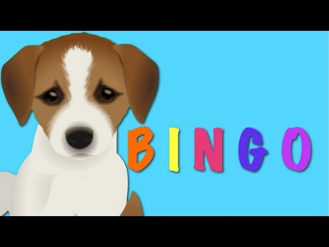 BINGO - Dog Song Nursery Rhyme | Kids Animation Rhymes For Children...