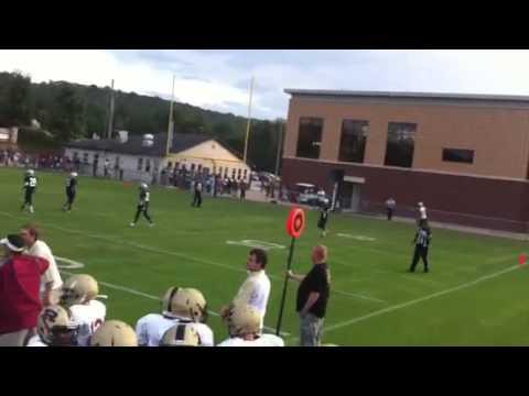Rudd Middle School Indians Liallen Dailey #1 Touchdown!